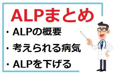 ALPの概要、考えられる病気、ALPを下げる