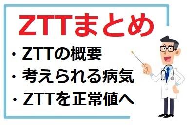 ZTTの概要、考えられる原因や病気、正常値にする方法まとめ